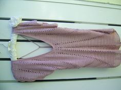 Vintage beaded lined crocheted top by PinkPicot on Etsy, £12.00