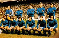EQUIPOS DE FÚTBOL: SELECCIÓN DE ITALIA contra Holanda 24/02/1979 Partido amistoso