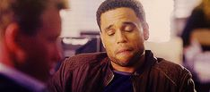 Look at Michael Ealy licking those kissable lips.