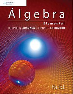 #álgebraelemental #richardaufmann #joannelockwood #álgebra #problemas #ejercicios #escueladecomerciodesantiago #bibliotecaccs