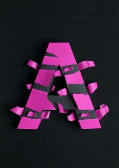 """Actualité / Le """"A"""" sous toutes ses coupes ! / étapes: design & culture visuelle"""