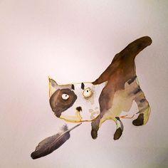 Cats Online Class | Self Study available on Etsy $25 | #CarlaSonheim