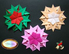 Origami Maniacs: 5 Different Kinds of Origami Snowflakes for Christmas