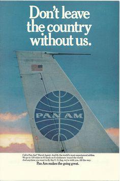 Pan Am, 1968.
