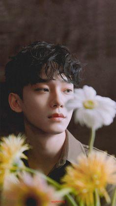 Chen The mini album Dear my dear Exo Chen, Exo Chanyeol, Exo Ot12, Chanbaek, Chansoo, Exo Album, Exo Lockscreen, Kim Jongdae, Korean Boy