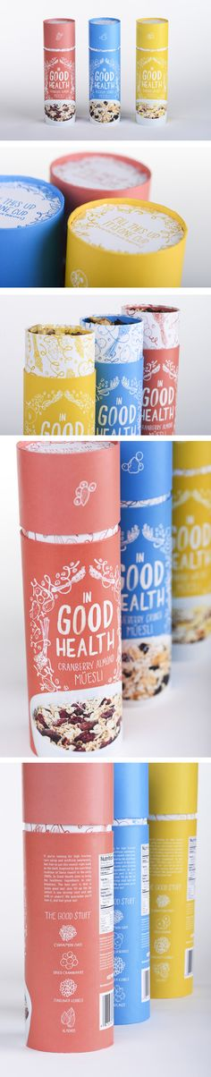 In Good Health Muesli | Ashley Hohnstein -- nice to see it spelt right too!