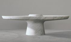 White marble coffee table | Marc Newson