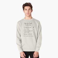 Pullover, Crew Neck Sweatshirt, Graphic Sweatshirt, Pink Milk, Joshua 1 9, Mode Vintage, Cute Pink, Hoodies, Sweatshirts