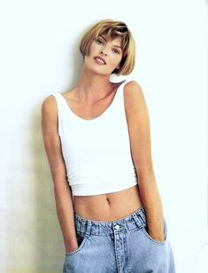Linda Evangelista, Vogue Australia #nastygaldenim #icon