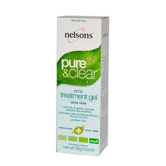 Nelsons: Pure & Clear Acne Treatment Gel, 1 oz Nelsons
