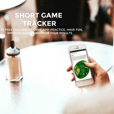 """Download the app at http://www.golfshortgametracker.com,  improve your Short Game and compare with your friends …"""