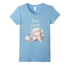 Funny Cat Shirt Can't Adult Kitten Kitty Animal Pets Cute - Female Large - Baby Blue Cozy Tees Buffalo http://www.amazon.com/dp/B01BKZ5UQW/ref=cm_sw_r_pi_dp_AVtUwb0BGK1F5
