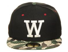 W 'Leaves' 59Fifty Fitted Baseball Cap by WESC x NEW ERA