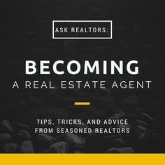 Learn What Industry Experts Would Tell Themselves About Getting Started As A #Realtor