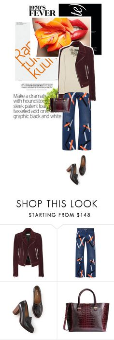 """""""[ 70's ]"""" by crilovesjapan ❤ liked on Polyvore featuring Balenciaga, Christopher Kane, Boden, Victoria Beckham, Burberry, women's clothing, women, female, woman and misses"""