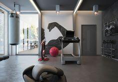 Die 8 Besten Bilder Von Fitnessraum Zu Hause Home Gym Room Attic