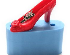 3D high heel silicone soap mold candle mold handmade decoration tools resin craft polymer clay mould R1328