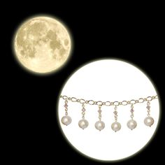 昨夜はとても美しい満月でした。満月の夜はいつも不思議な気分になります。庭で眺めていると、ふといつもみているコットンパールを連想しました。【制作スタッフC】