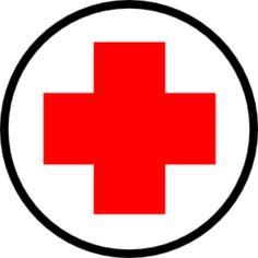 Printable First Aid Cross First Aid Cross, Nurse Clip Art, First Aid Kit Checklist, Community Helpers Preschool, Playing Doctor, Medical Symbols, Dramatic Play, Nursing Students, Preschool Crafts