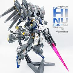 Custom Build: MG 1/100 RX-93-v2 [trs] Hi Nu Gundam Titans Revival System - Gundam Kits Collection News and Reviews