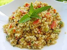 TABOULE (thermomix) Kitchenaid, Mini Quiche Sans Pate, Risotto, Lebanese Recipes, One Pot Pasta, Asian Chicken, Couscous, Fried Rice, Salad Recipes