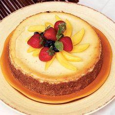 Mango Cheesecake   MyRecipes.com