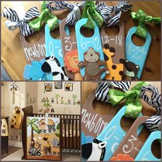 Organize that closet with Veronica's Closet Creations hand painted divider set! Made to match any nursery theme...find me on Facebook! Veronica's Closet Creations!