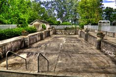 Empty Pool Daly Mansion | Flickr