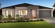 Dennis Home Designs: Cosgrove - Facade Option 1. Visit www.localbuilders.com.au/builders_nsw.htm to find your ideal home design in New South Wales