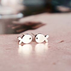 Pisces fish stud earrings fish earrings by RabbitsFantasyWorld Rose Gold Earrings, Stud Earrings, Pisces Fish, Little Fish, Birthday Gifts For Her, Stainless Steel Jewelry, Rose Gold Plates, Jewelry Gifts, Constellation Earrings