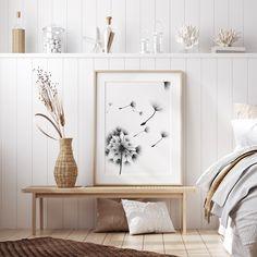 #dandelion #bedroom #artprints #posters #walldecor #wallart #poster #frames #interior #inspiration