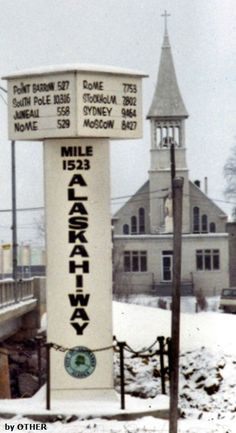 Fairbanks, Alaska - No snow when we were here. We were here on the Summer Solstice - 23 hours of daylight.