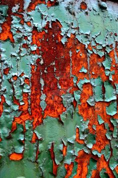 peeling paint by PAl