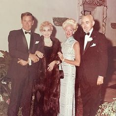 Barbara Hutton, Colin Fraser, Mary & Woolworth Donahue, Formal Picture