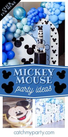 Don't miss this gorgeous Mickey Mouse birthday party! The balloon decorations are amazing! See more party ideas and share yours at CatchMyParty.com Mickey Mouse Cake, Mickey Mouse Parties, Mickey Party, Mickey Mouse Birthday, Yummy Lollies, Nutella Birthday Cake, Kid Party Favors, Party Activities, Boy Birthday Parties