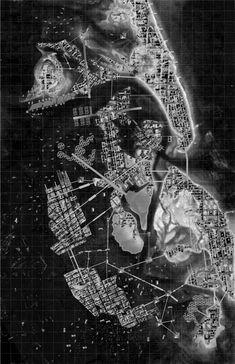 beautiful map - Michael Archer