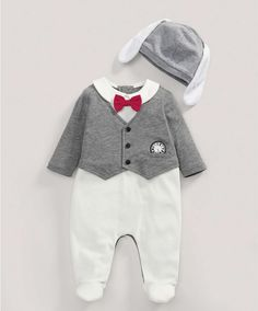 White Rabbit All-in-One and Hat - Disney - Alice In Wonderland - Mamas & Papas