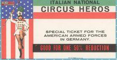 Circus collection: Italian National Circus Heros 1964