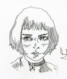 Matilda #drawing #instaart #artstagram #art #instadaily #mathilda #leon