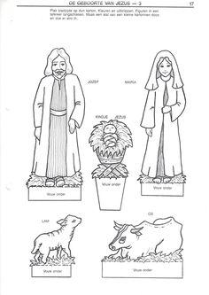Christmas Artwork, Christmas Crafts, Jesus Birthday, Christmas Jesus, Birth Of Jesus, Bible Crafts, Holy Night, Paper Folding, Bible Stories
