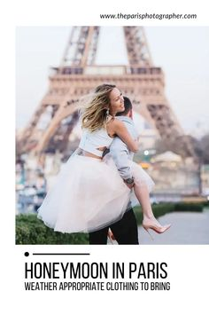 While packing, that fancy dress or dapper suit will make the trip even more romantic. it's important to pack a few practical clothing items as well. Read on for our advice on what kind of outfits to bring while honeymooning in Paris.