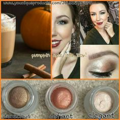 Pumpkin spice latte look! www.youniqueproducts.com/JULESSTEVENS