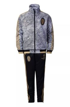 ensemble Champions League Survetement jogging foot Juventus Enfant Gris 2015 2016 grossiste