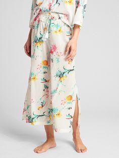 Dreamwell Print Wide-Leg Pants | Gap