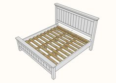 Terrific Free of Charge Farmhouse Bedding plans Thoughts Farmhouse style bedding has a certain feel to it. Light, clean , crisp, neutral and rustic are just King Farmhouse Bed, Farmhouse Style Bedding, White Farmhouse, Full Bedroom Furniture Sets, Diy Furniture, Furniture Projects, Furniture Plans, Kitchen Furniture, Rustic Furniture