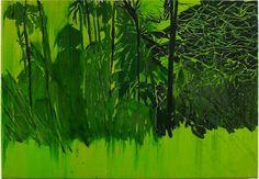Little Paper Planes Landscape Artwork, Contemporary Landscape, Contemporary Paintings, Abstract Landscape, Artist Art, Artist At Work, Stencil, Tropical Art, Tropical Paintings