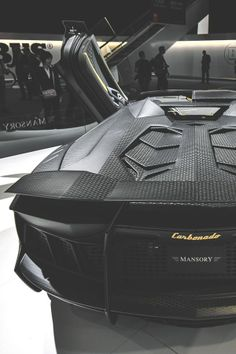 Badass Mansory Aventador Carbonado. Click to see more photos like this...