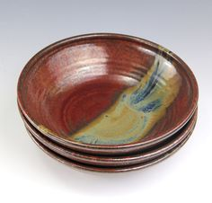Salad is good; salad in these warm lovely bowls is even better. littleepottery.etsy.com