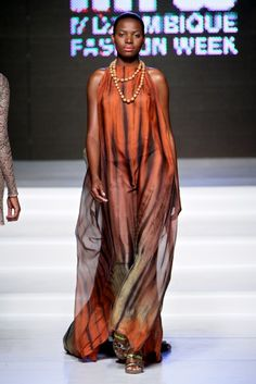 Micaela Olivera @ Mozambique Fashion Week 2013 - Day 3 - FashionGHANA.com (100% African Fashion)