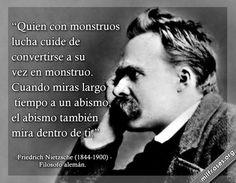 Friedrich Nietzsche, filósofo alemán.